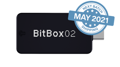 BitBox02 Multi edition [SHIPPING IN MAY]